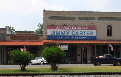 Джимми Картер построил солнечную ферму