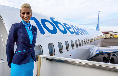 """Лоукостер """"Победа"""" увеличит долю билетов по 999 рублей на 20,7% в 2017 году"""