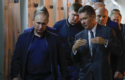 """Путин дал старт стыковке мелководной и глубоководной частей """"Турецкого потока"""""""