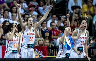 Женская сборная Испании стала чемпионом Европы по баскетболу