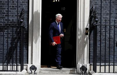 Великобритания поддержит удары США по ВС Сирии в случае применения химоружия