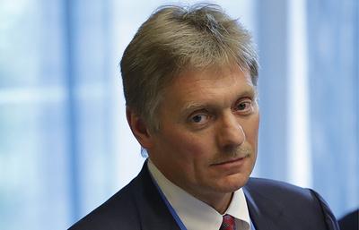 CNN: Песков заявил о негативном отношении Москвы к законопроекту по санкциям против РФ