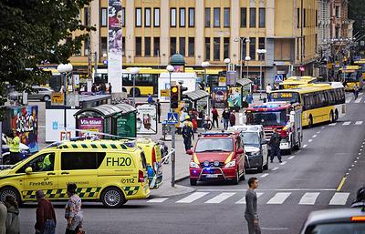 Восемь человек доставлено в больницу, один из них погиб после нападения в Турку