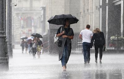 В Москве и Подмосковье ожидаются дождь, гроза и до 21 градуса тепла