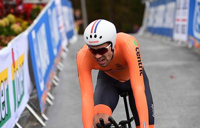 Голландец Дюмулен выиграл индивидуальную велогонку с раздельным стартом на чемпионате мира