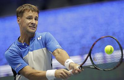 Литовский теннисист Беранкис вышел в полуфинал «ВТБ Кубка Кремля»
