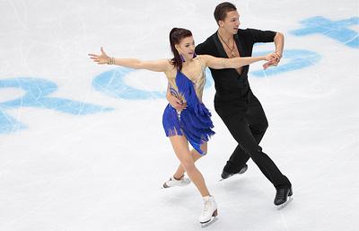 Боброва и Соловьев стали вторыми на этапе Гран-при в России в танцах на льду