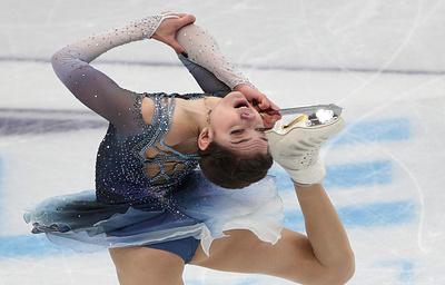 Фигуристка Евгения Медведева выиграла этап Гран-при в России