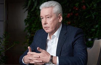Собянин заявил о готовности снова участвовать в выборах мэра Москвы