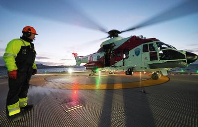 МЧС согласовало с властями Норвегии план работ в зоне крушения Ми-8 у Шпицбергена