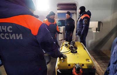 МЧС распространило видео подводного обследования разбившегося в Норвегии Ми-8