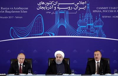 Путин подтвердил планы поставлять газ на север Ирана через Азербайджан