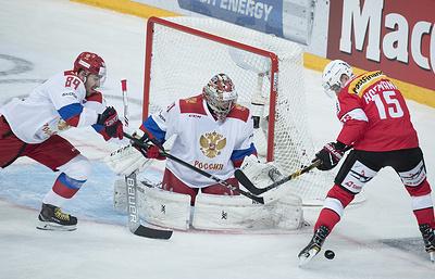 Российские хоккеисты одержали волевую победу над швейцарцами на Кубке Карьяла