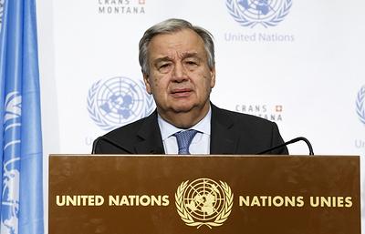 Генсек ООН предложил помощь Ираку и Ирану, пострадавшим от землетрясения