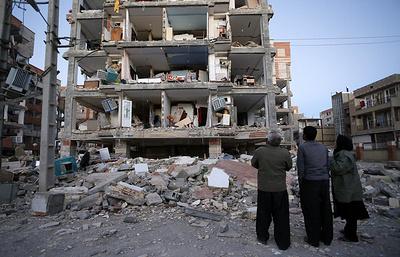 Разрушительное землетрясение в Ираке и Иране унесло сотни жизней