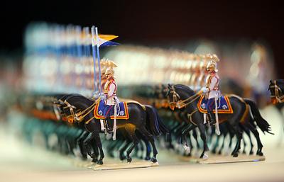 России подарили уникальную коллекцию оловянных солдатиков