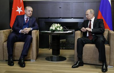 Путин и Эрдоган согласны, что нужно наращивать усилия по урегулированию в Сирии