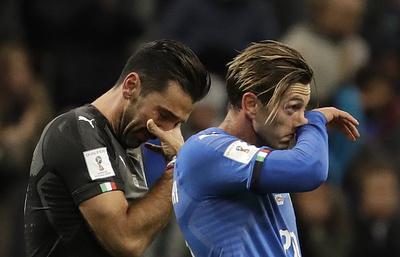 Невыход сборной Италии на ЧМ-2018 по футболу обойдется в €8 млн