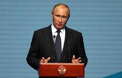 Владимир Путин принимает участие в церемонии открытия ПМКФ-2017
