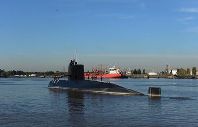 ВМС Аргентины получили сигналы, которые могли исходить от пропавшей подлодки