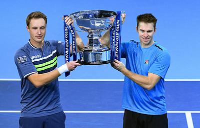 Континен и Пирс второй раз подряд выиграли Итоговый турнир ATP в парном разряде