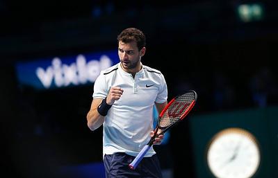 Болгарский теннисист Димитров выиграл Итоговый турнир ATP