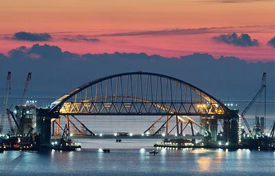 Эксперты: открытие Крымского моста не приведет к снижению цен на грузоперевозки в Крым