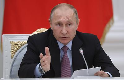 Путин еще не отвечал на вопрос, будет ли участвовать в выборах президента