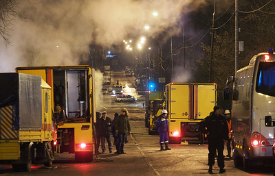 В Москве завершены аварийно-восстановительные работы после прорыва на теплотрассе