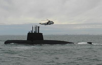 Российский подводный аппарат совершил первое погружение в зоне поиска подлодки San Juan