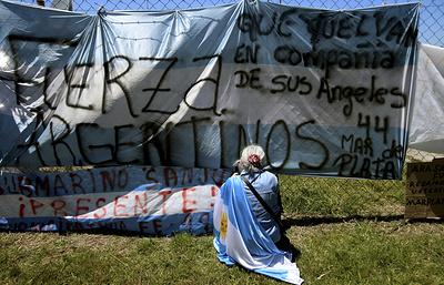 Министр обороны Аргентины впервые публично признал гибель экипажа подлодки San Juan