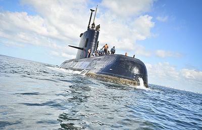 Российские специалисты продолжили поиск аргентинской подлодки San Juan