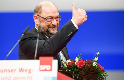 Шульц переизбран председателем Социал-демократической партии Германии