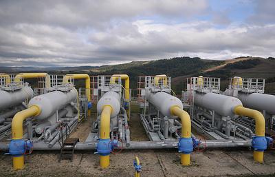 Транзит газа через Украину снизился на 23%