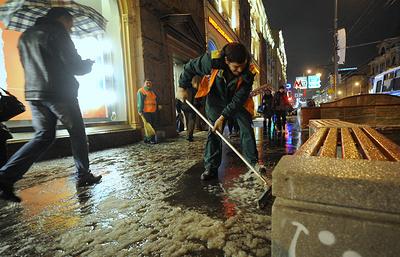 В Москве в четверг возможен гололед