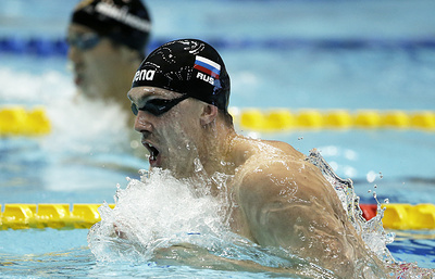 Сборная России стала второй в смешанной эстафете 4x50 м кролем на ЧЕ на короткой воде