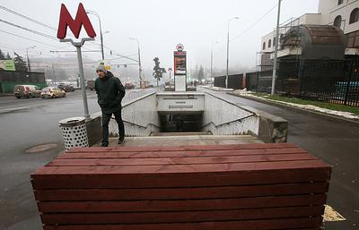 В Москве установят 800 бетонных блоков около метро и мест массовых гуляний до 30 декабря