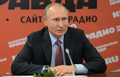 Путин обсудил с главами информагентств и печатных СМИ выборы в РФ и международные вопросы