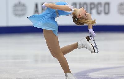 Российская фигуристка Федичкина перешла в группу тренера Мишина