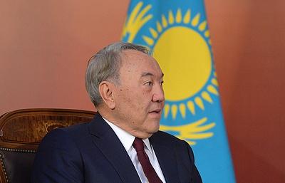 Назарбаев подчеркнул важность укрепления отношений с США в сфере инвестиций