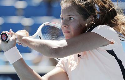 Касаткина не смогла выйти в третий круг Australian Open