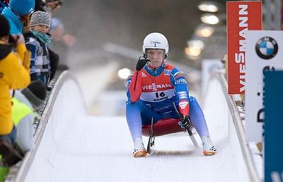 Саночник Репилов завоевал серебро на этапе КМ в Норвегии