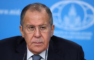 """Лавров: Запад должен помнить, что у России есть """"красные линии"""" в политике"""