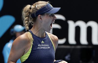 Немка Кербер вышла в полуфинал Australian Open