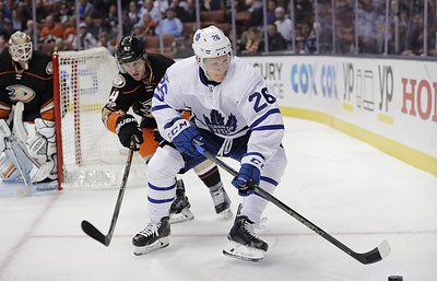 Клуб НХЛ «Сент-Луис» выменял у «Торонто» российского форварда Сошникова