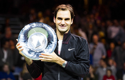 Роджер Федерер стал самым возрастным лидером рейтинга ATP в истории