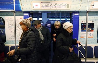 Московское метро переведено на усиленный режим работы из-за снегопада
