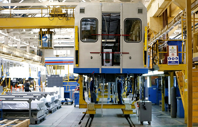 Метровагонмаш построит для метро Баку два поезда