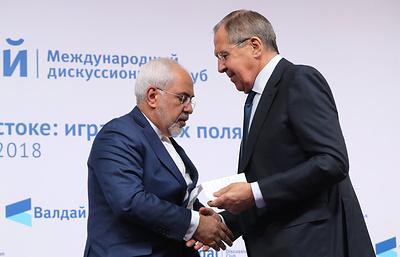 Главы МИД РФ и Ирана провели вторые в этом году переговоры в Москве