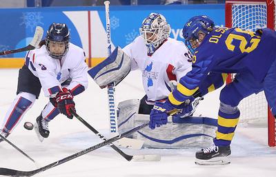 Объединенная корейская команда заняла последнее место в женском хоккейном турнире на ОИ